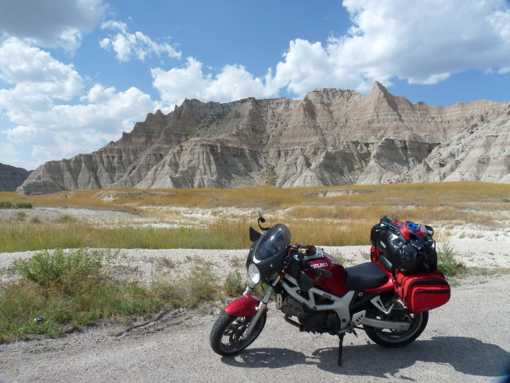 Crossing the Badlands of South Dakota