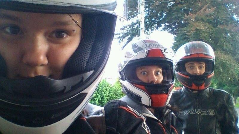 Helmet selfiie!