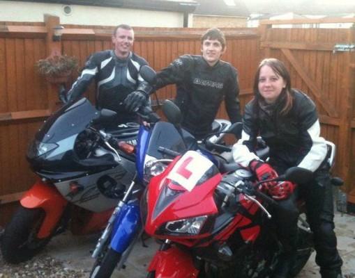 Women Who Ride: Motorcyclist Jordan Sprott with friends