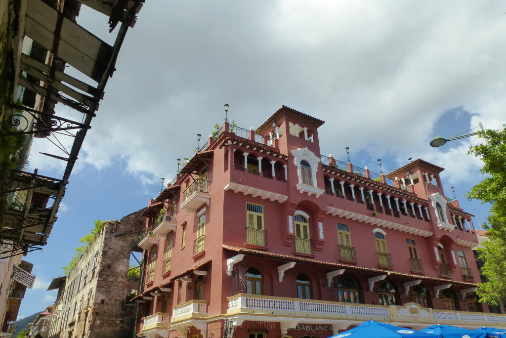 Another grand old building in Casco Viejo, Panama