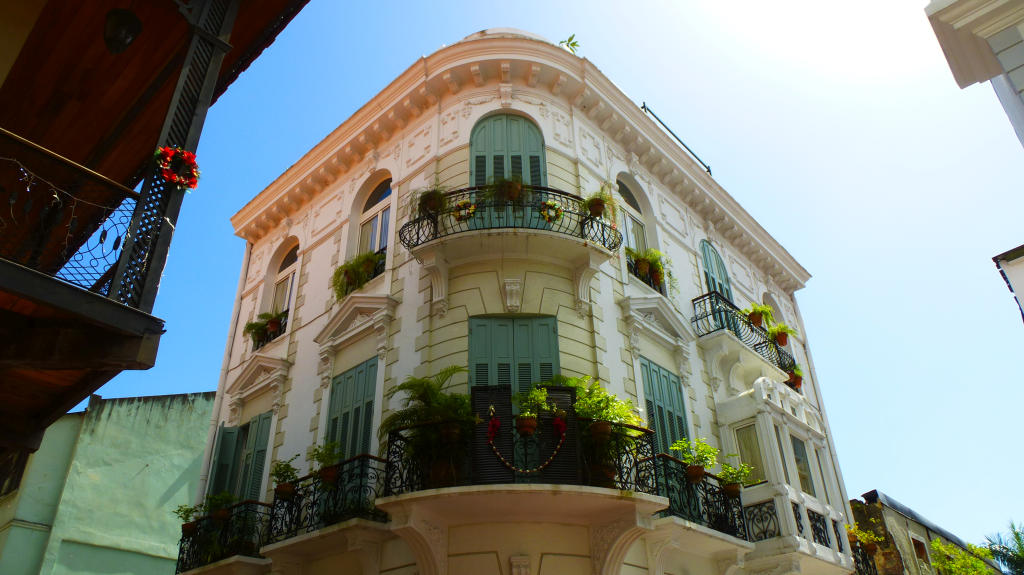 A Beautiful Colonial Building In Casco Viejo, Panama
