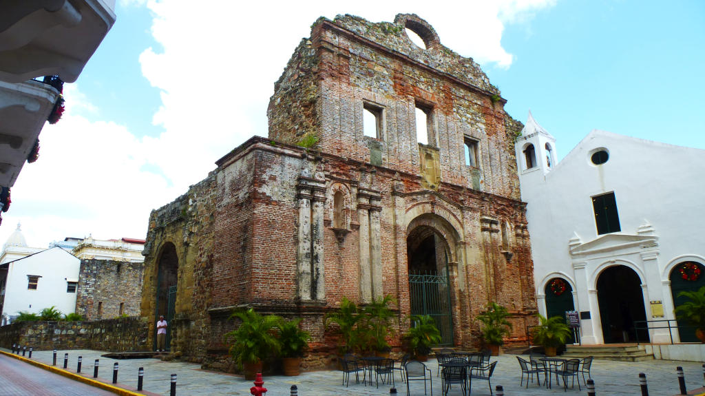 Some old ruins in Casco Viejo, Panama
