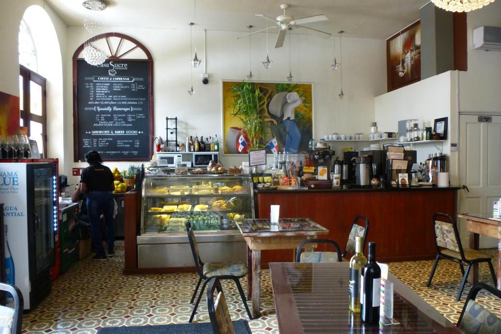 Casa Sucre coffee house in Casco Viejo, Panama