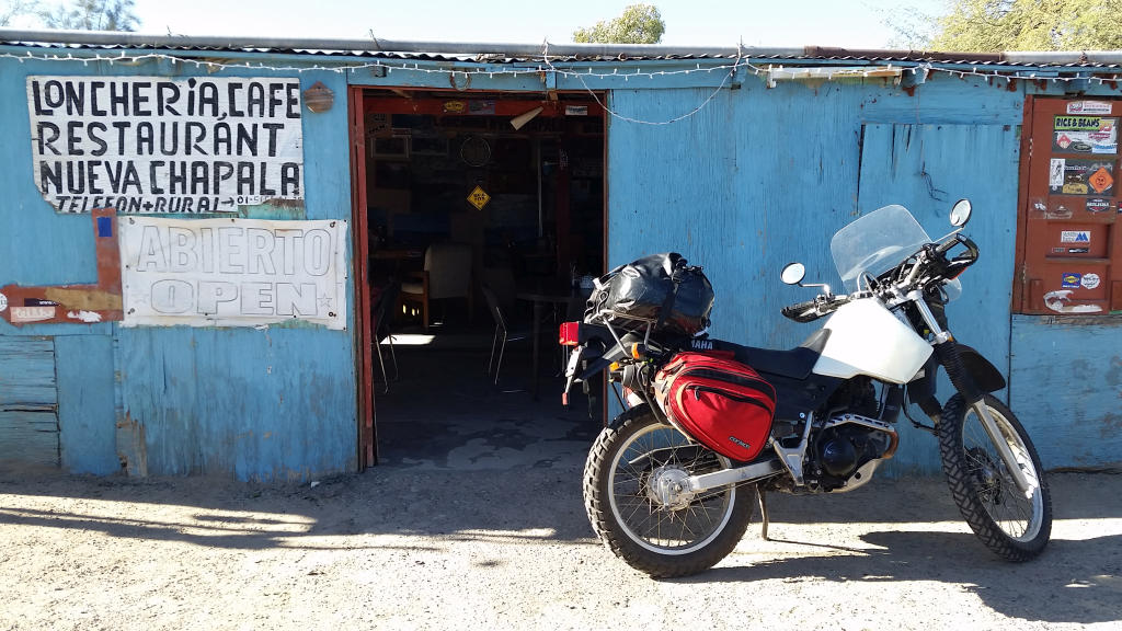 A rancheria at Chapala junction - popular spot for Baja 1000 riders